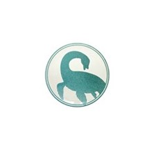 Nessie - Loch Ness Monster Mini Button (10 pack)