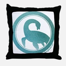 Nessie - Loch Ness Monster Throw Pillow