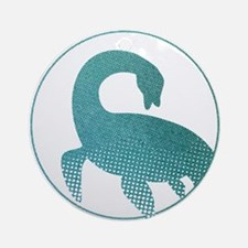 Nessie - Loch Ness Monster Ornament (Round)