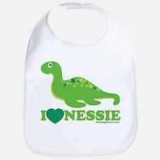I Love Nessie Bib