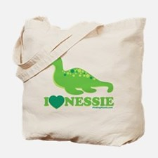 I Love Nessie Tote Bag