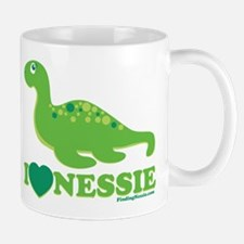 I Love Nessie Mugs