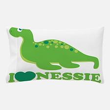 I Love Nessie Pillow Case