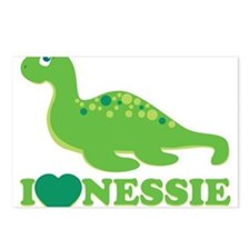 I Love Nessie Postcards (Package of 8)