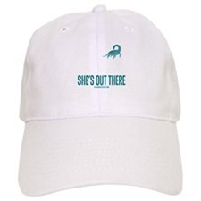 Loch Ness Monster - She's Out There Baseball Baseball Cap