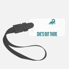 Loch Ness Monster - She's Out There Luggage Tag