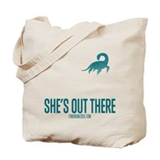 Loch Ness Monster - She's Out There Tote Bag