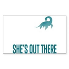 Loch Ness Monster - She's Out There Decal