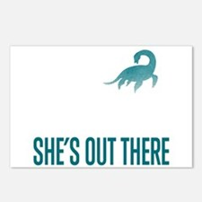 Loch Ness Monster - She's Out There Postcards (Pac