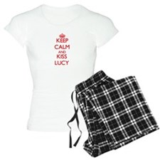 Keep Calm and Kiss Lucy Pajamas