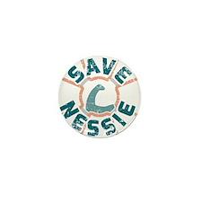 Save Nessie Mini Button