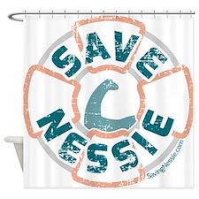 Save Nessie Shower Curtain