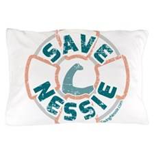 Save Nessie Pillow Case