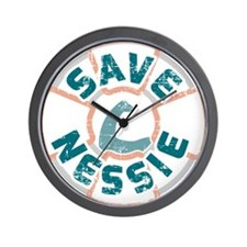 Save Nessie Wall Clock