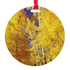 Aspens Over Vail Ornament
