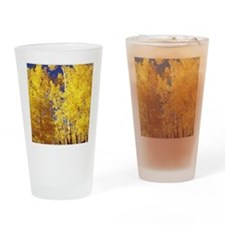Aspens Over Vail Drinking Glass