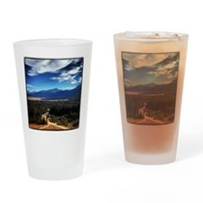 Mt Elbert Drinking Glass