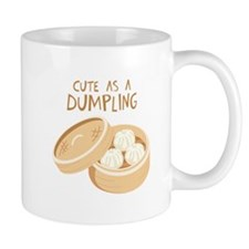CUTE AS A DUMPLING Mugs