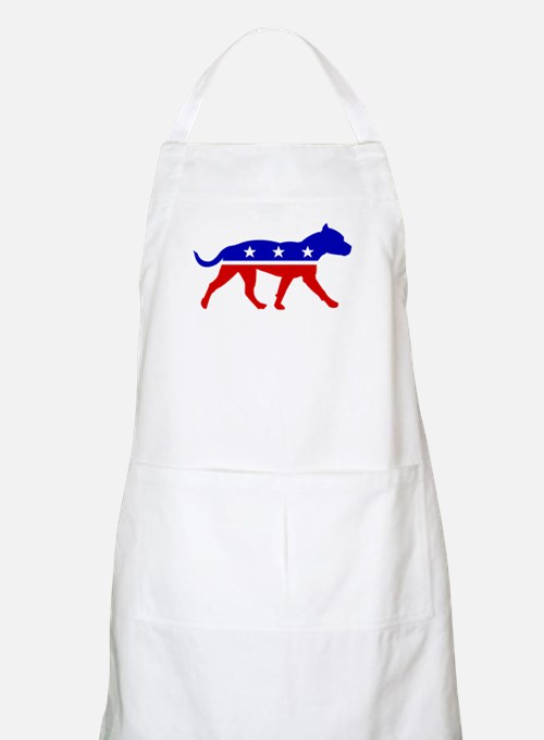 Pit Bull Party BBQ Apron