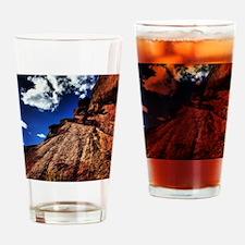 Red Rocks Drinking Glass