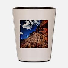Red Rocks Shot Glass