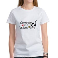 Cows Love Vegans Tee