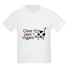 Cows Love Vegans T-Shirt