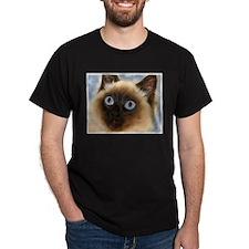 Cute Birman cat painting T-Shirt