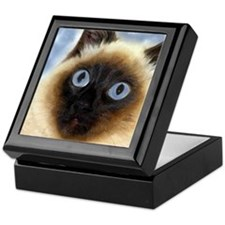 Cute Birman Keepsake Box