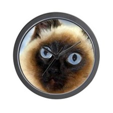 Cool Cat paintings Wall Clock