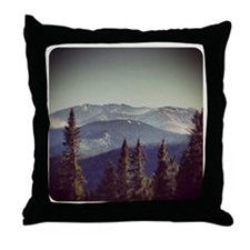 St Mary's Glacier Throw Pillow