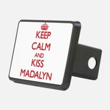 Keep Calm and Kiss Madalyn Hitch Cover