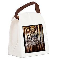 Santa Monica Pier Canvas Lunch Bag