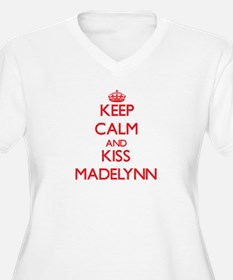 Keep Calm and Kiss Madelynn Plus Size T-Shirt