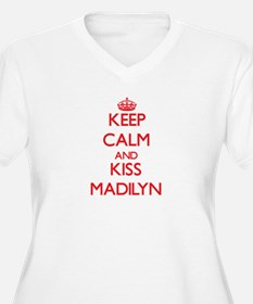 Keep Calm and Kiss Madilyn Plus Size T-Shirt