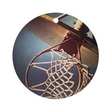 Hoops Round Ornament
