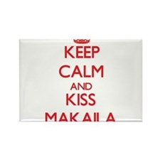 Keep Calm and Kiss Makaila Magnets