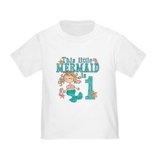 Mermaid First Birthday T