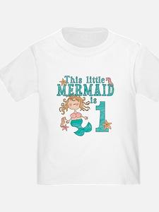 Mermaid First Birthday T