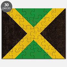 Vintage Jamaican Flag  Puzzle