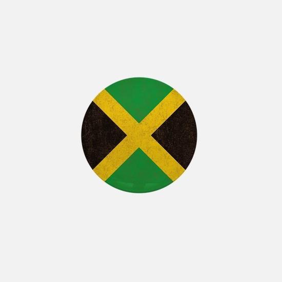 Vintage Jamaican Flag  Mini Button