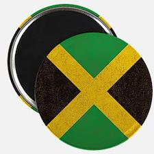Vintage Jamaican Flag  Magnet