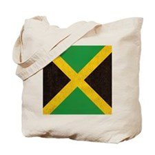 Vintage Jamaican Flag  Tote Bag