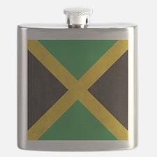 Vintage Jamaican Flag  Flask