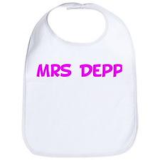 Mrs Depp Bib