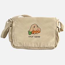 Personalized Plain Bunny Messenger Bag