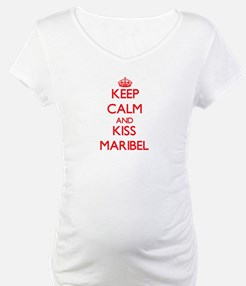 Keep Calm and Kiss Maribel Shirt