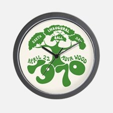 Earth Day Inaugural Ball Wall Clock