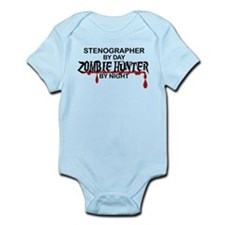 Zombie Hunter - Stenographer Infant Bodysuit