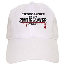 Zombie Hunter - Stenographer Baseball Cap